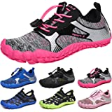 MARITONY Boys Girls Trainers Kids Water Shoes Wide Toe Barefoot Shoes Non-SlipTrail Running Shoes Quick Drying Aqua Shoes for