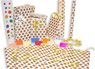 Allied Quality Assured Gift Wrapping Paper Sheet Roll (27-inch Length and 18.5-inch Width)