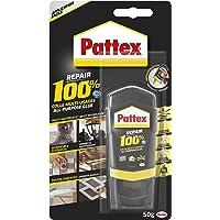 Pattex Repair 100% Colle Multi-usages, colle forte transparente pour tous types de travaux à l'intérieur et l'extérieur…