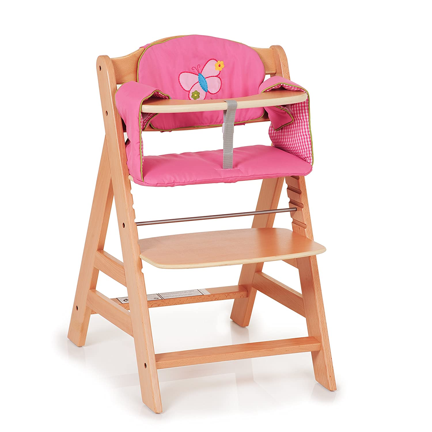 Hauck Alpha Padded fort Highchair Seat Cushion Butterfly