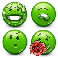 Green Smiley Minis by Emoji World