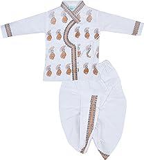 Salma Dress Boys' Cotton Clothing Set