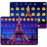 Paris Emoji Keyboard Theme
