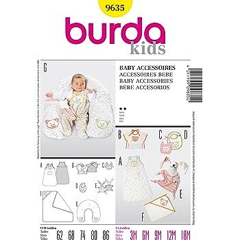 Burda Schnittmuster 9479 Babyausstattung: Nestchen, Utensilo ...
