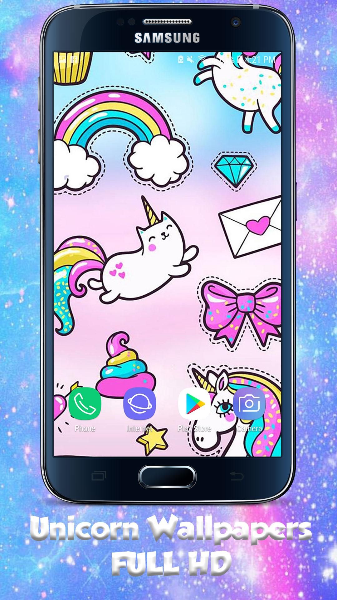 Amazing Kawaii Cute Unicorn Wallpaper Cute Backgrounds