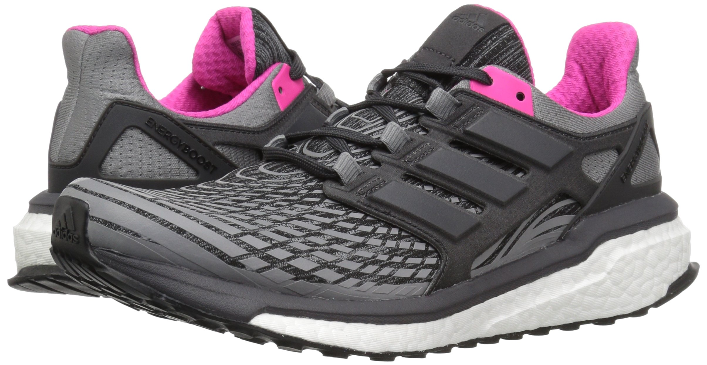 81S3gay2J6L - adidas Womens Energy Boost Fabric Low Top Lace Up Running Sneaker