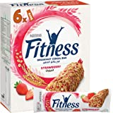 Nestle Strawberry Fitness Cereal Bars, 6 X 23.5g - Pack of 1