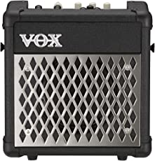 "Vox MINI5R Battery Powered Amplifier with Rhythm, 5W, 1 x 6.5"", Black"
