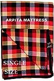 Shri krishan kripa handloom Cotton 300TC Mattress Covers Single Bed (72X36X4 inch_Multicolor)