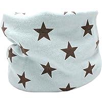 Kids Boys Girls Cotton Multi Use Neck Warmer Scarf Hat Bandana