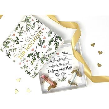 Geldgeschenk Geld Verpackung Zur Hochzeit Lasst Liebe Wachsen