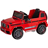 Dorsa Mercedes Benz Ride On Car For Kids, 0002-RED