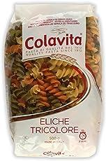 Colavita Eliche Tricolore Pasta 500g (Durum Wheat Pasta)
