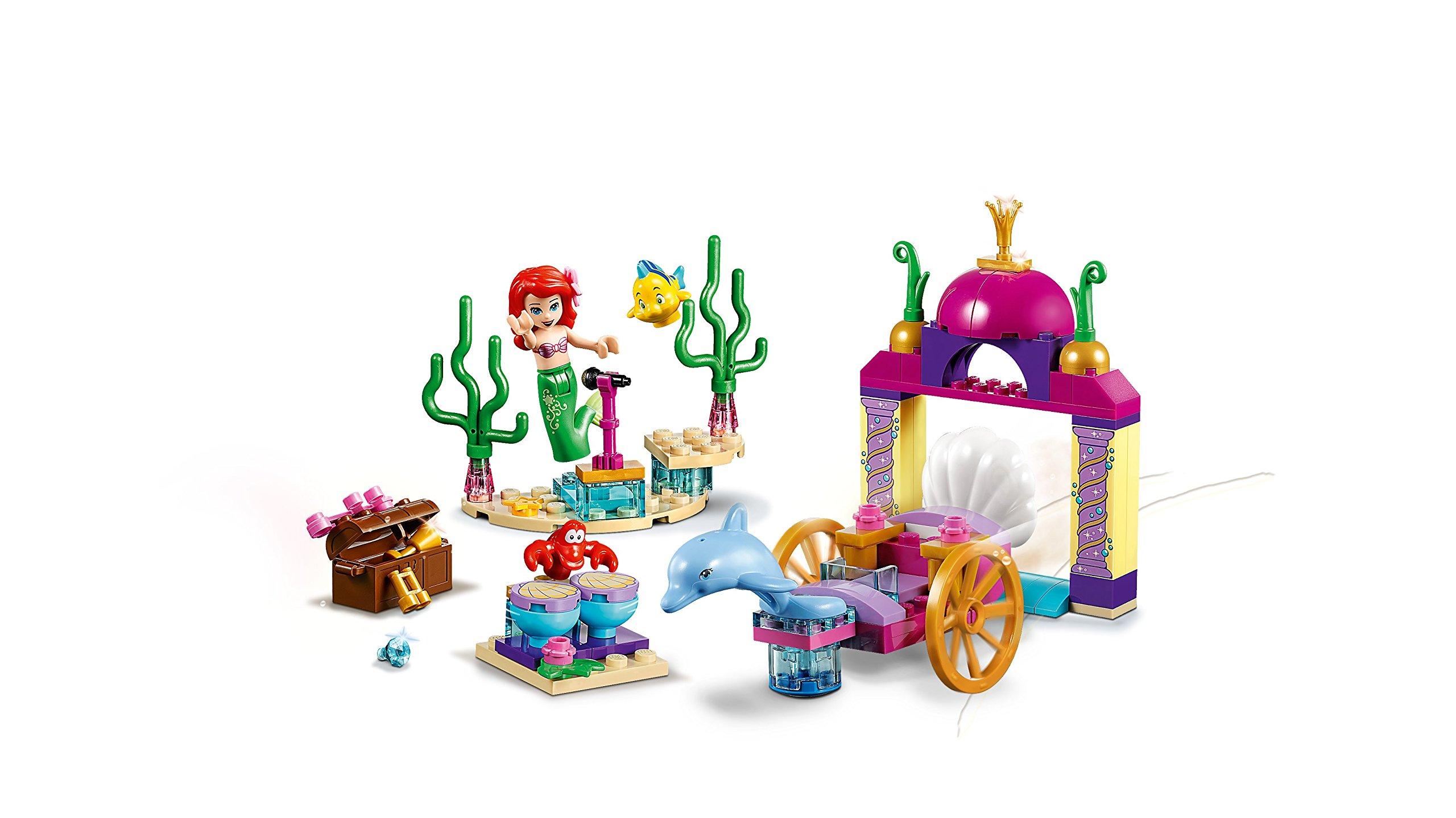 Il concerto sottomarino di Ariel 10765 Lego Princess Juniors Disney La Sirenetta