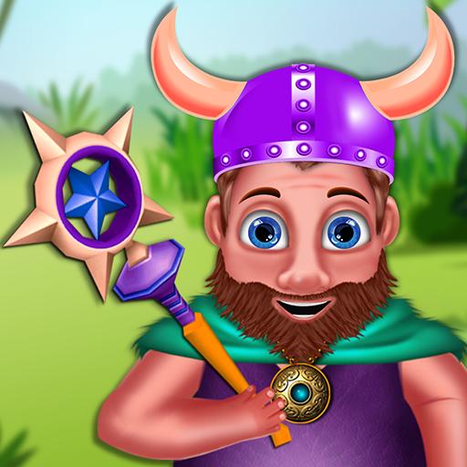 Homme des Cavernes le Fou jeu d'aventure - Aidez l'homme des cavernes à trouver son chemin de retour dans sa grotte!