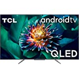 TCL, 65C711, 65 pollici QLED TV, 4K Ultra HD, Smart TV con sistema Android 9.0 (HDR 10+, Micro dimming, Dolby Vision-Atmos),