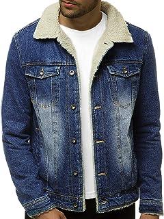 MatchLife Classics Herren Jeansjacke Winter Denim Jacket