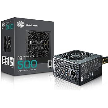 Cooler Master MasterWatt Lite 500 230V Alimentatore  'Non-Modulare, 80 Plus White, 500W' MPX-5001-ACABW-EU