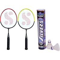 Silver's KIDS SIL-PEDAL COMBO-4 Aluminium Badminton Racquet, Pack of 2