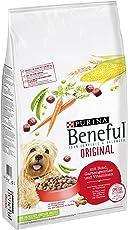 Purina Beneful Hundetrockenfutter Sack, mit Rind und Gemüse, 1er Pack (1 x 12 kg)