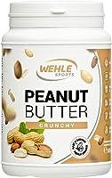 Erdnussbutter Natürliche Peanutbutter Ohne Zusätze. Erdnussmus Ohne Salz, Zucker, Palmfett - Wehle Sports (Crunchy, 1 KG)