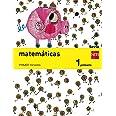 Matemáticas. 1 Primaria. Savia - Pack de 3 libros - 9788467570182