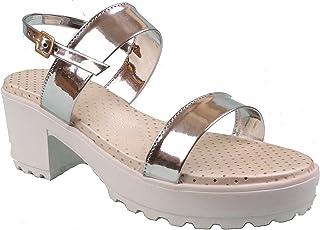 Foot Wagon Hills Women's Block Heels Sandal