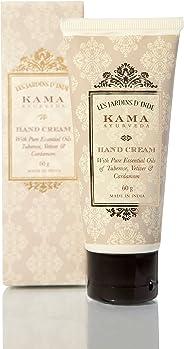 Kama Ayurveda Hand Cream with Pure Essential Oils of Tuberose, Vetiver and Cardamom, 60g