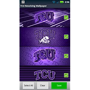 TCU Horned Frogs Revolving Wallpaper Amazoncouk Appstore For Android