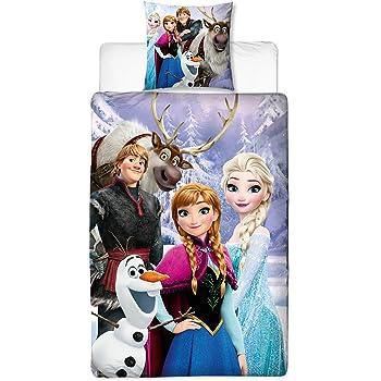Parure De Lit Linon Enfants Disney Frozen La Reine Des Neiges 135