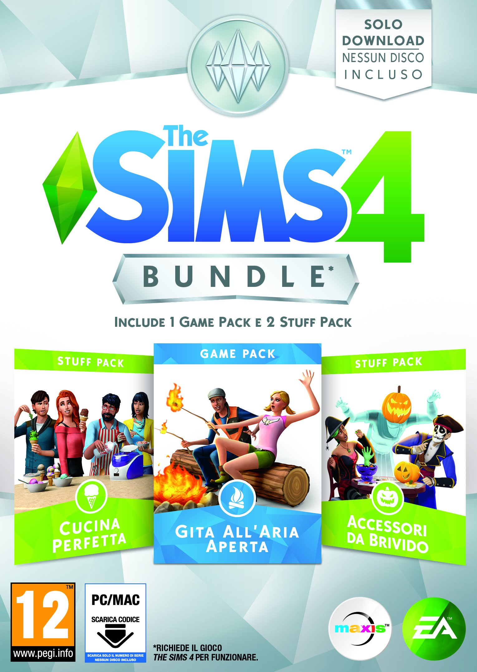the sims game and stuff pack 1