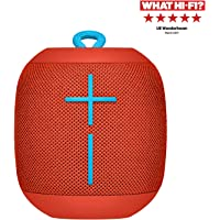 Ultimates Ears Wonderboom enceinte portable Bluetooth, Son étonnamment puissant, Etanche, Connectez deux enceintes pour un son plus puissant, Batterie 10h - Rouge