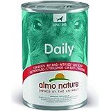 Almo Nature Dailymenu - Mangime per Cani Adulti, con Manzo, confezione da 24 x 400 g