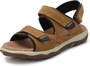 Fucasso Men's Synthetic Beige Outlander Sandals