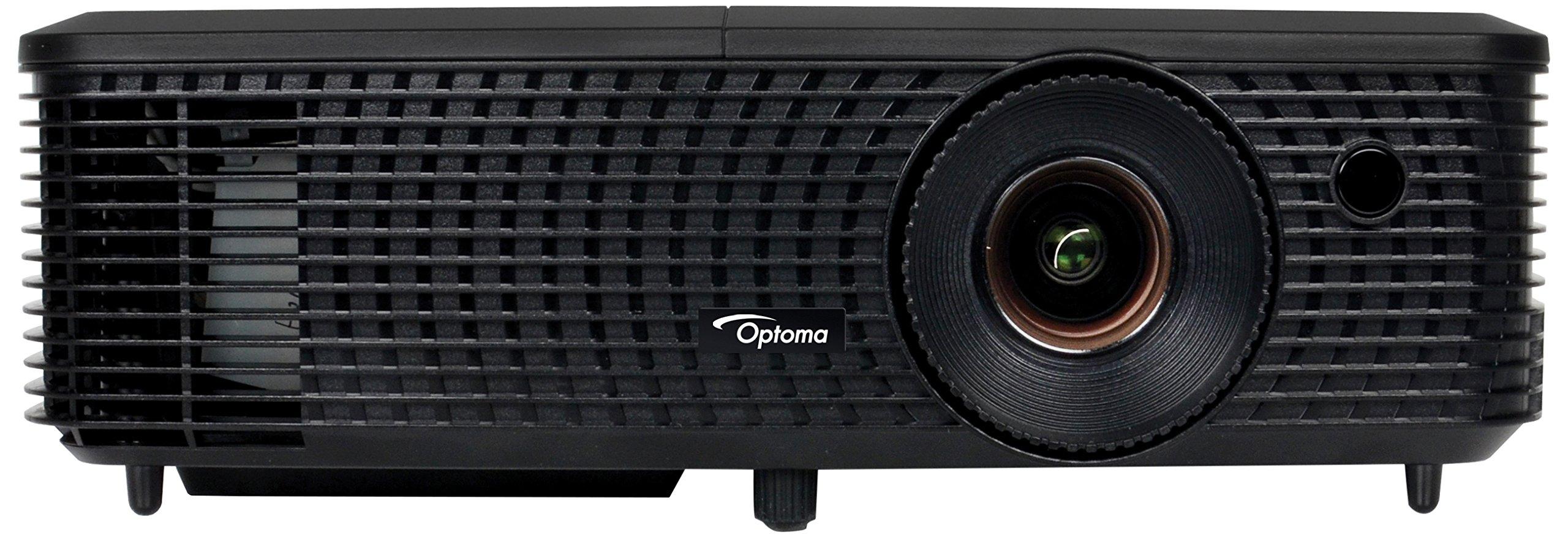 81SGDmDSl5L - Optoma DS348 SVGA DLP HDMI 3000 Lumens Full 3D Projector - Black