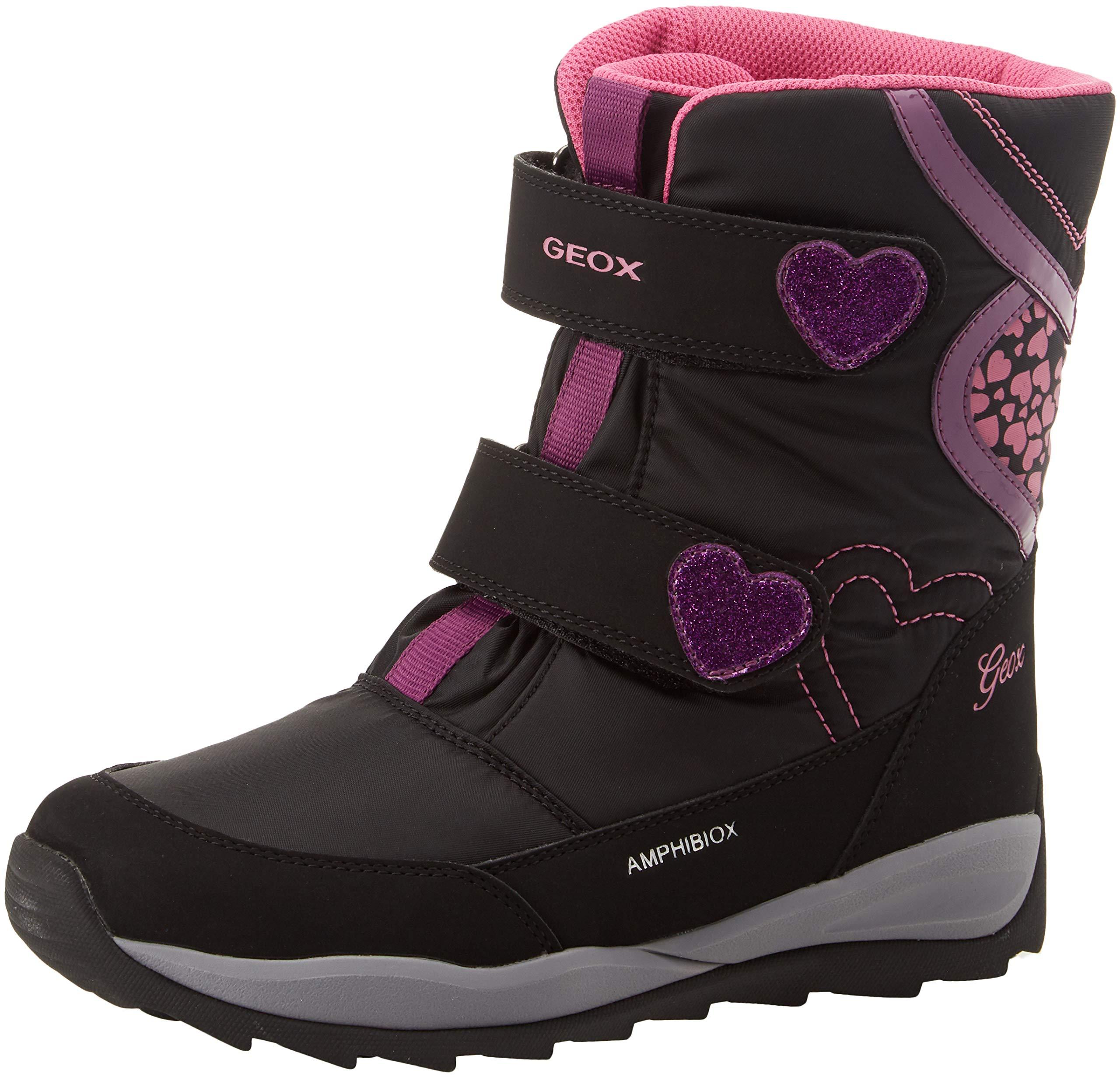Geox J Orizont B Girl ABX E, Botas de Nieve Niñas