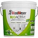 MaxMeyer Pittura per interni antimuffa Bioactive BIANCO 10 L,12-14 mq/litro