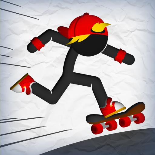 stick-skater