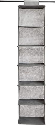 AmazonBasics Hanging Closet Shelf, 6-Tier