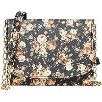 ADISA Women Girls Floral Print Sling Bag