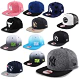 New Era Cap Snapback 9Fifty New York Yankees Seattle Seahawks Chicago Bulls Los Angeles Dodgers UVM #K2