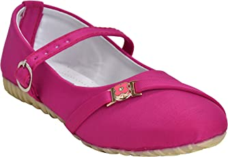 Leatherwood1 Gilrs Pink ballerina shoes