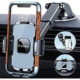 حامل الهاتف المحمول من TORRAS ، [حافظة ضخمة وهاتف كبير] 3 في 1 حامل الهاتف المحمول للسيارة الزجاج الأمامي التهوية ، متوافق مع