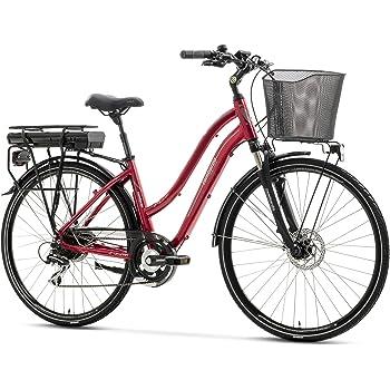 Lombardo Bici Elettrica 28 E Bike Viterbo Donna Bordeauxblack