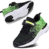 Kyopp Sports Shoes for Kids Athletic Trainers Boys and Girls Casual Running Shoes Slip on Sneakers Children Lightweight Breat