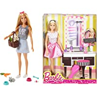Barbie Dolls and Pets & Doll and Playset, Multi Color