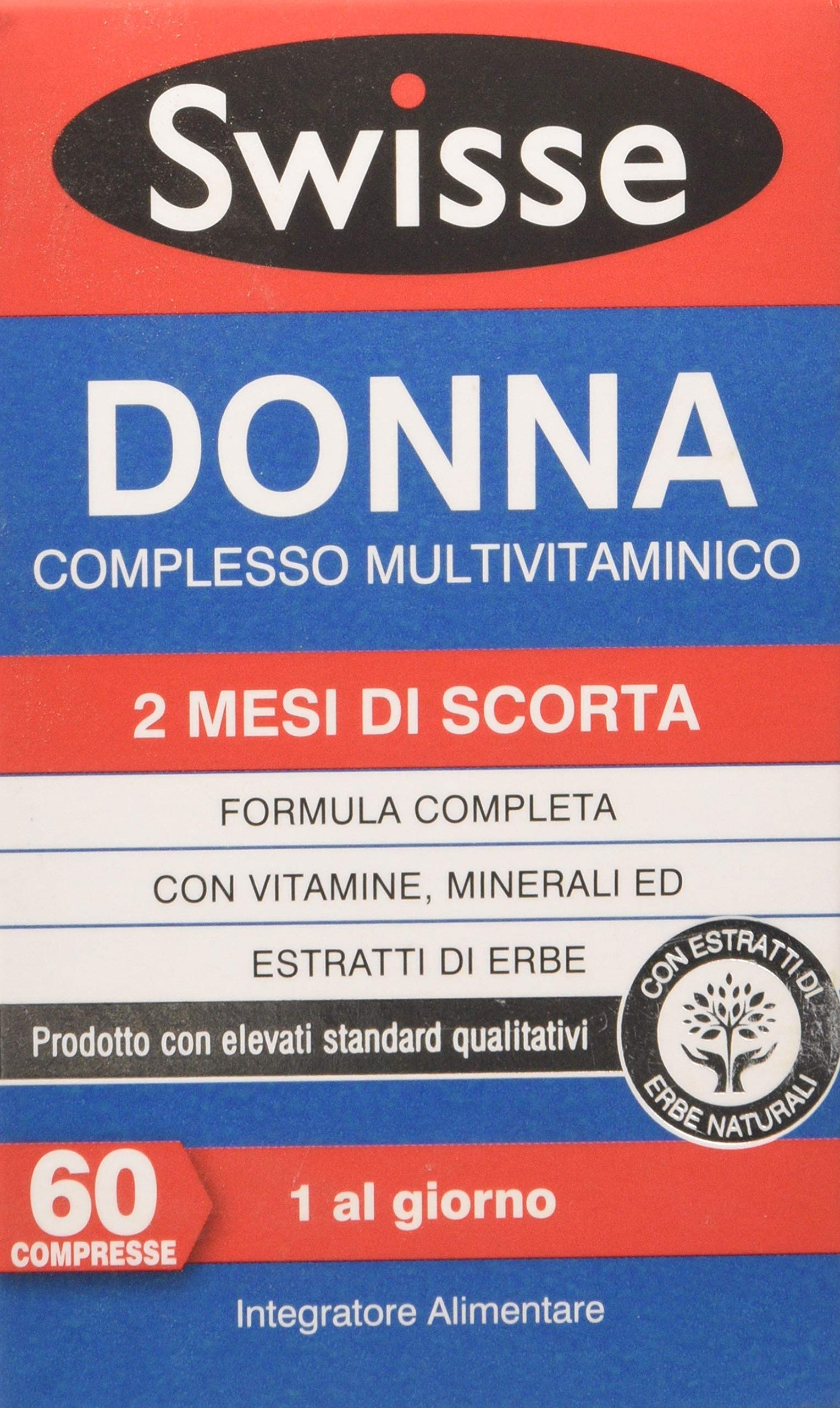 Swisse Donna Complesso Multivitaminico - 60 compresse 1 spesavip