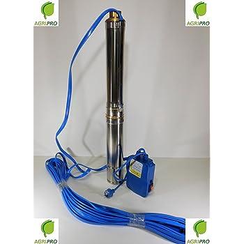 Elettropompa Sommersa 1 Hp Pompa Per Acque Chiare In Acciaio Inox