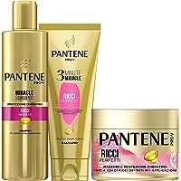 Pantene Pro-V Miracle Shampoo Protezione Cheratina Ricci Perfetti per Capelli Secchi, Opachi e Crespi, 250 ml + Balsamo…
