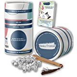 Rinko france |35 Perles de Céramique Avec Boite Ecologique et Pince en Bambou Offerte, Purificateur Naturel Eau Robinet, Filt